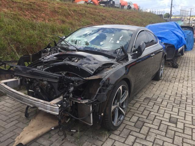 Sucata Audi A7 3.0T Quattro TFSI 2013 - Foto 2