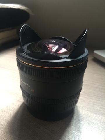 Lente P/ Canon - Sigma 10mm 2.8 (Fisheye)