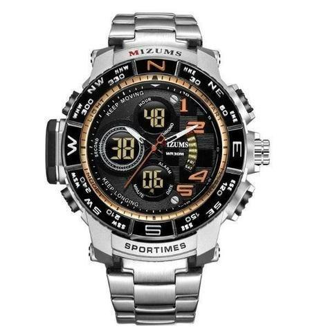5262da51426 Relogio Mizums Masculino Relógio Digital Quartz Big Dial for original