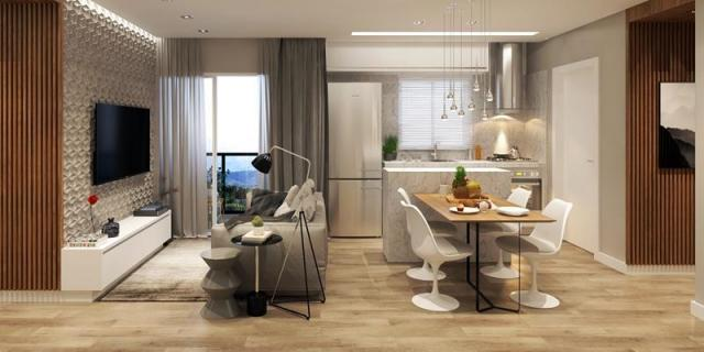 Apartamento com 2 dormitórios à venda, 64 m² por R$ 243.506 - Costa e Silva - Joinville/SC - Foto 5