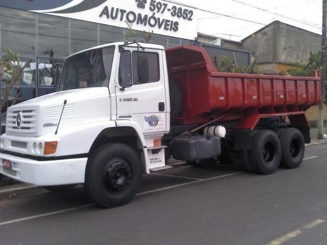 MB L 1418 EL Caçamba Truck Aceito Troca