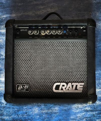 Guitarra Golden + Amplificador Crate - Foto 3