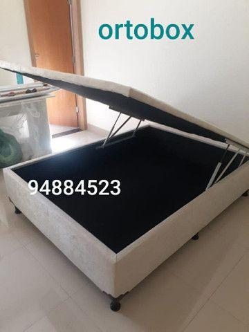 Box baú casal(138×188×41) direto da fábrica com qualidade garantida!! - Foto 3