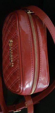 Bolsa tiracolo scamboo couro verniz  - Foto 2