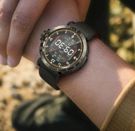 Blitzwolf BW-AT1 - Smartwatch - Novo na Caixa - Preto - 1 Unidade - Foto 3