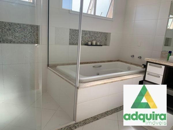 Casa em condomínio com 4 quartos no Condomínio Veneto - Bairro Oficinas em Ponta Grossa - Foto 10