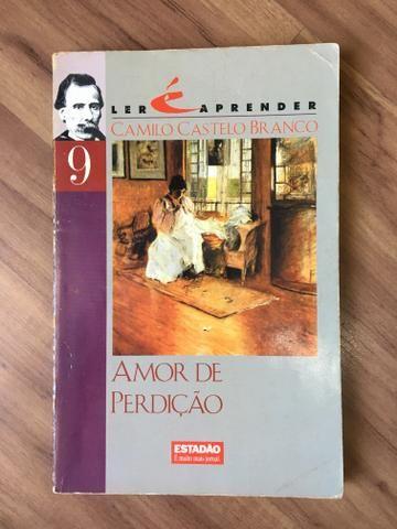 Livro amor e perdição literatura