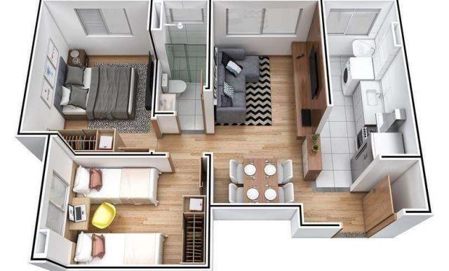 Alameda dos Pêssegos - Saint Regis - Apartamento de 2 quartos em São Paulo, SP - ID3870 - Foto 2