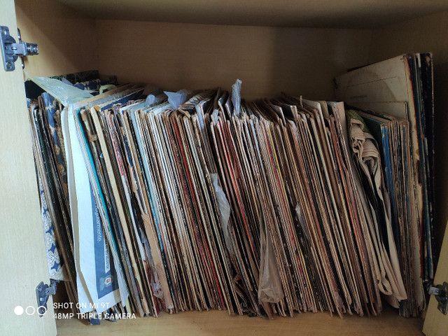 Lote de disco de vinil