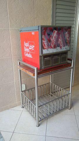 Geladeira pra latinha - Coca Cola