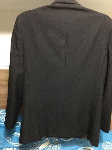 Blazer básico tradicional, calça básica social e gravata ( tudo na cor preta) - Foto 3