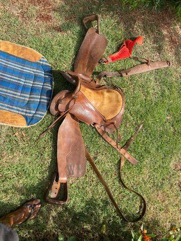Vendo selas para cavalo usadas - Foto 2