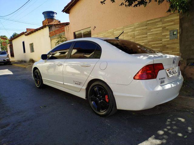 Honda Civic 2008 Branco - Foto 3