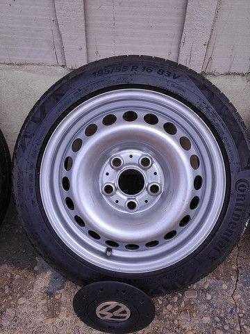 Roda ferro 16 ( aro 16 de ferro da Amarok) - Foto 2