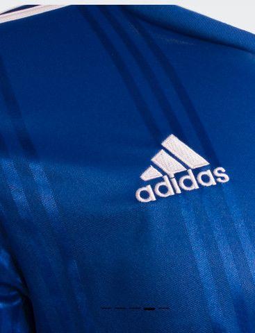 Camisa Futebol Cruzeiro Esporte Clube Azul e Branca Nova - Foto 6
