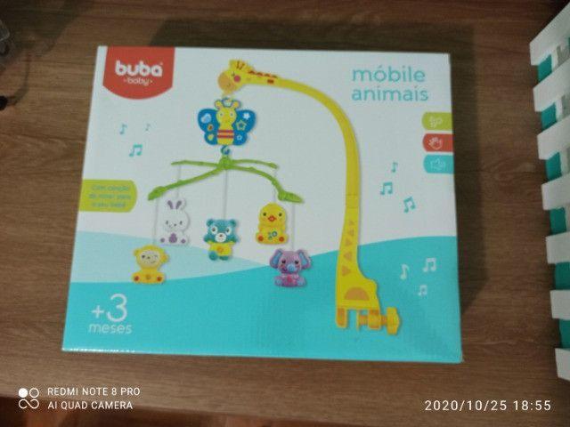 Móbile musical animais Buba