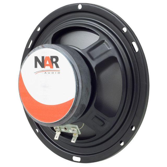 Kit Duas Vias NAR Audio 600 CS1 6 polegadas 100w RMS - Foto 5