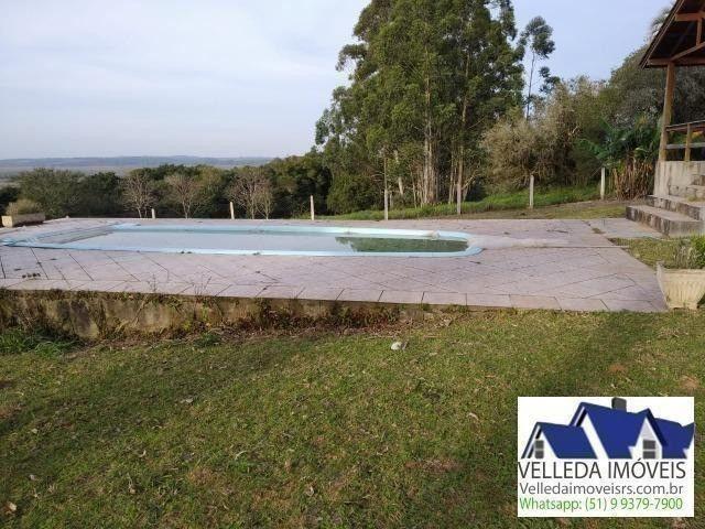 Velleda of. sítio 3,9 hectares, vista magnífica, casa, piscina - Foto 12