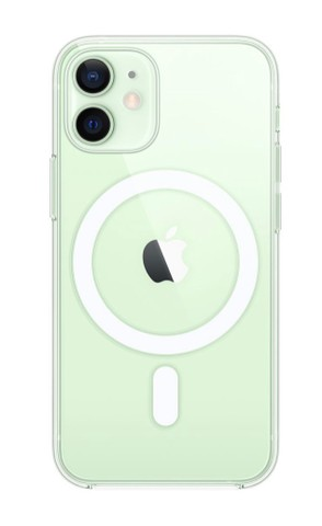Capa MagSafe IPhone 12 Mini transparente - Foto 3