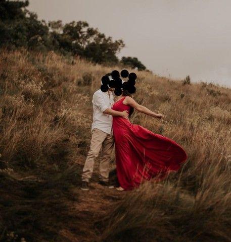 R$ 150,00 Vestido vermelho pré wedding - Foto 2