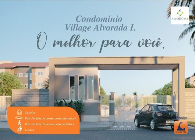 Apartamentos canopus- condomínio, village alvorada// 2 quartos - Foto 6
