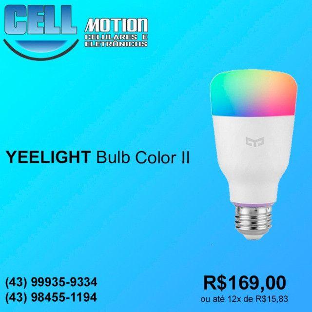 Xiaomi Lâmpada Inteligente Yeelight Bulb Color II