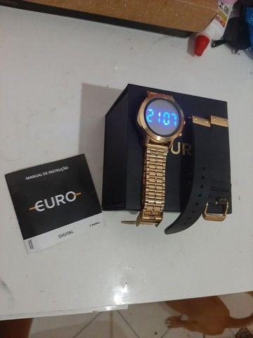 Vendo relógio da marca euro semi novo  - Foto 2