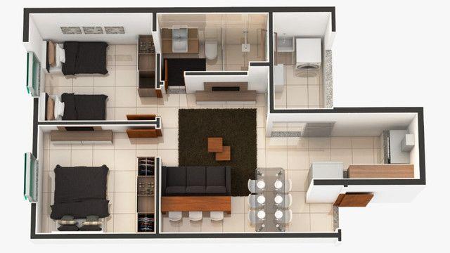 Apartamento em Ipatinga. Cod. A197, 2 quartos, 60 m². Valor 260 mil - Foto 15