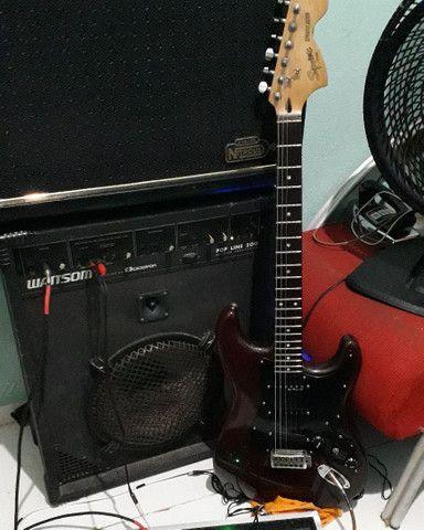 Guitarra squier deluxe  - Foto 6