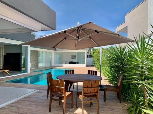 Vendo Excelente Casa LAGUNA 509 m² 4 Quartos 3 Suítes c/ Closets Piscina Aquecida Espaço G - Foto 3