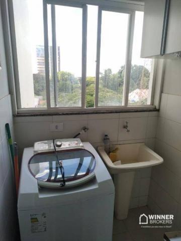 Lindo apartamento mobiliado à venda no centro de Cianorte! - Foto 17