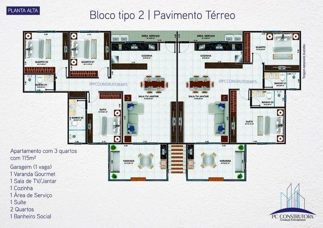 Apartamento com 3 dormitórios à venda, 115 m² por R$ 535.000 - Praia do Mutá - Porto Segur - Foto 8