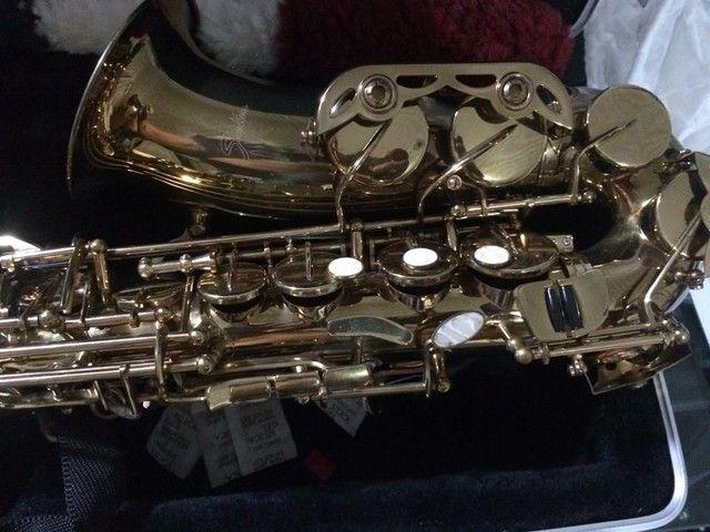Saxofone Alto Shelter novo - Foto 3