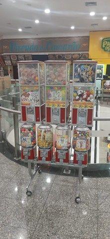 Máquinas Vendmachine em operacão no Shopping