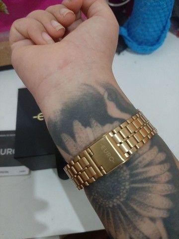 Vendo relógio da marca euro semi novo  - Foto 3