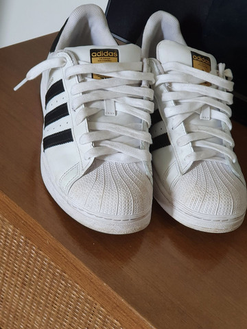 Adidas super stars branco
