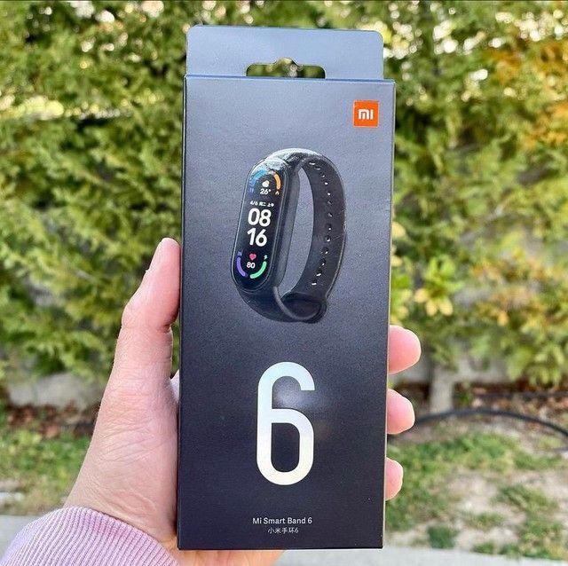 Xiaomi mi band 6 nova lacrada com 6 meses de garantia