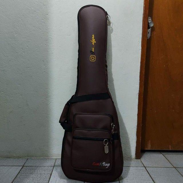 Bag para contra baixo SUPER LUXO  - Foto 5