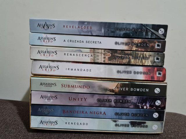 Todos os Livros do Assassin's Creed