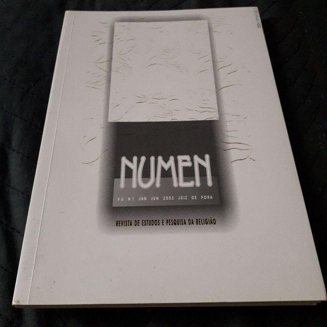 Revista académica Numen - estudos e pesquisa da religião