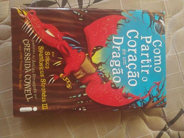 Vendo Livros da série COMO TREINAR O SEU DRAGÃO - Foto 5