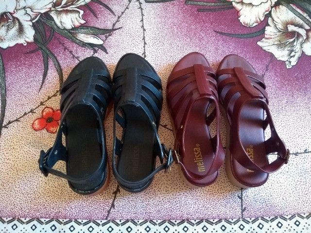 Kit sandália melissa - Foto 2