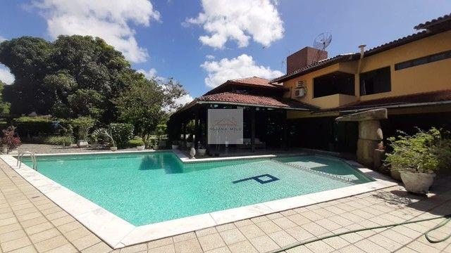 Mansão no Cond Torquato de castro aldeia/598m/ 4 suites/espaço gourmet com piscina/luxo