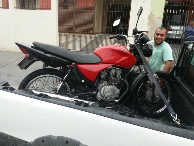 Moto documento estourado