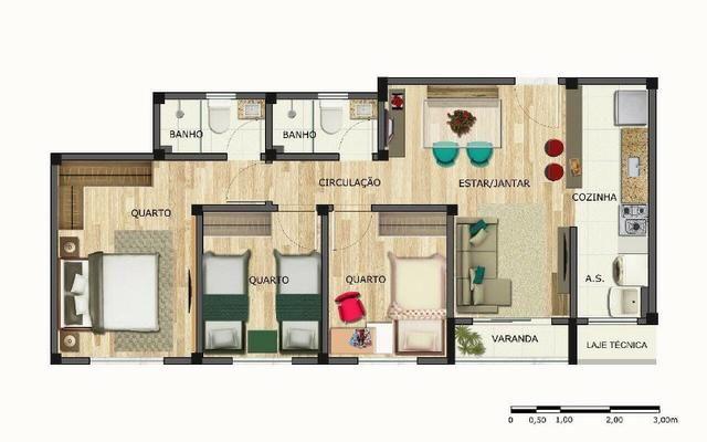 Apartamento com suite e varanda no Paraiso! - Foto 13