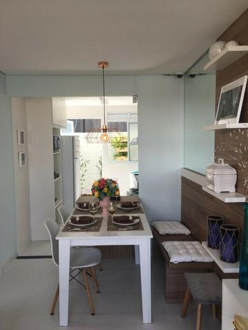Casa de 2/4 na laje em Condomínio - Região Jardim Cruzeiro e Feira IX - Ent Facilitada - Foto 5