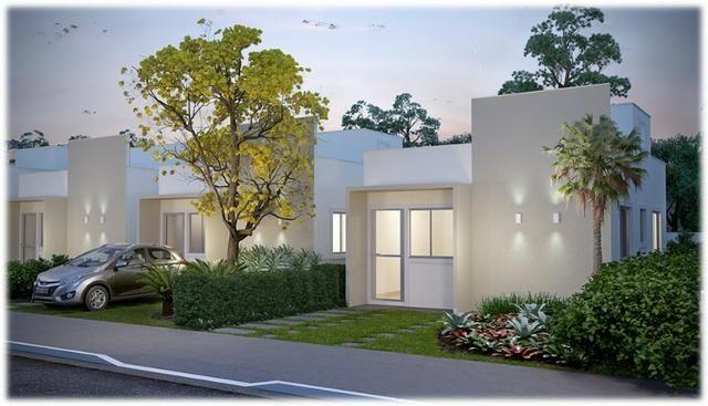 Casa de 2/4 na laje em Condomínio - Região Jardim Cruzeiro e Feira IX - Ent Facilitada - Foto 2
