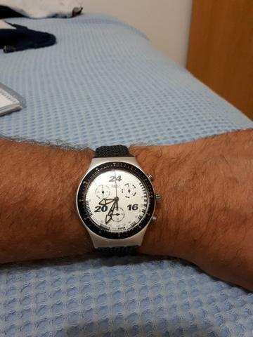 2d0b7d2fd4a Relógio Swatch Irony Aluminum (excelente estado)