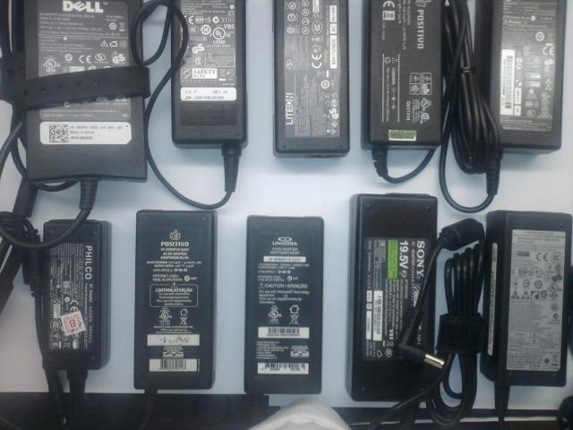 Fonte Carregador para Notebook Acer Asus Gateway HP Samsung LG Positivo Apple e mais - Foto 6