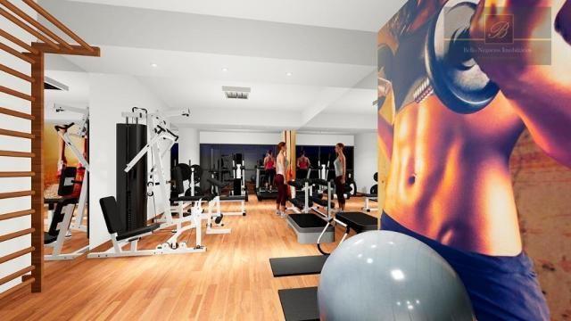Apartamento com 1 dormitório à venda, 58 m² por R$ 289.425 - Santo Antônio - Joinville/SC - Foto 3